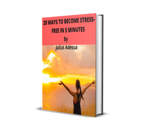 20 ways to become stress-free in 5 minutes