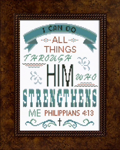 him who strengthens