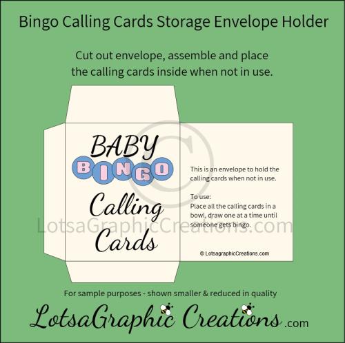 Third Additional product image for - Printable Baby Bingo Game Set