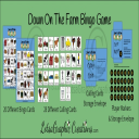 Down On The Farm Bingo Game Set | Other Files | Arts and Crafts
