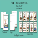 6x4 + Printable Make-A-Cookbook Pig Cooking   Other Files   Arts and Crafts