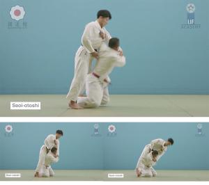 download. judo throw. seoi-otoshi. video.
