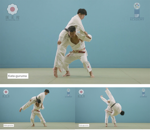 First Additional product image for - Download. Judo throw. Kata-guruma.Video.