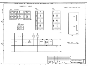 FANUC A20B-1003-0090/01 S Series A06B-6058-H00x Servo drive Single axis Control board (Full Schematic Circuit Diagram) | Documents and Forms | Manuals