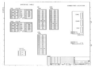fanuc a16b-1200-0800/01 s series a06b-6058-h2xx servo drive dual axes control board (full schematic circuit diagram)
