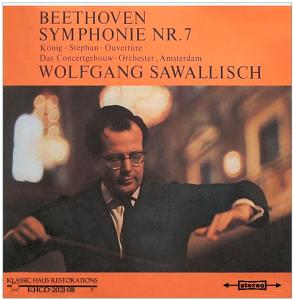 beethoven: symphony no. 7/king stephen overture - coa/wolfgang sawallisch (1960)