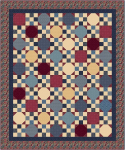 """Scrapbox """"Learn to Quilt"""" Quilt Pattern 