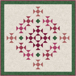 Rose Bouquet Mini Quilt Pattern | Crafting | Sewing | Other