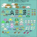 Babies 109 Pc. Clipart Set | Photos and Images | Clip Art