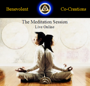 benevolent co-creations: live online meditation session: gold group membership 3: membership full - slots available soon