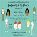 Kids Heads & Bodies 113 Pc. Clipart Set | Photos and Images | Clip Art