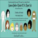 Women Heads & Bodies 42 Pc. Clipart Set   Photos and Images   Clip Art