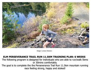 perseverance 11.5k free 6-week training plan!