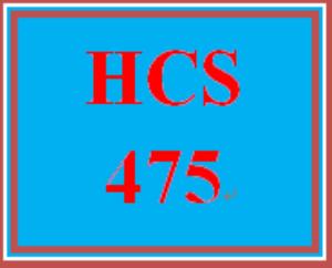 hcs 475 wk 5 - benchmark assignment—summary memo (2021 new)