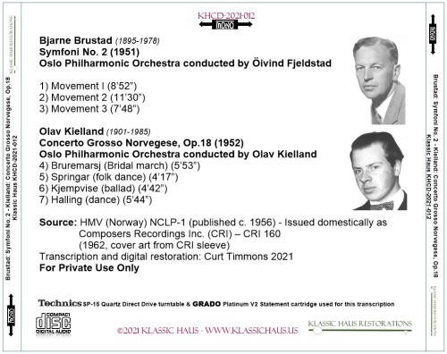 First Additional product image for - 20th Century Norwegian Orchestral Works