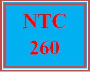 ntc 260 wk 4 - apply: enterprise security