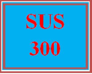 sus 300 wk 1 discussion - sustainability