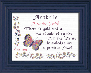 Name Blessings - Anabelle | Crafting | Cross-Stitch | Other