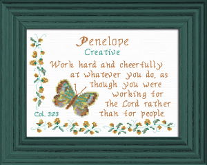 Name Blessings - Penelope | Crafting | Cross-Stitch | Other