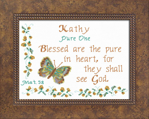 Name Blessings - Kathy | Crafting | Cross-Stitch | Other