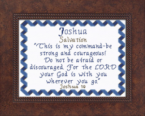 Name Blessings - Joshua 6 | Crafting | Cross-Stitch | Other