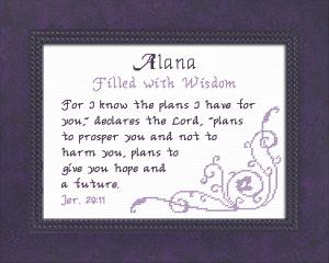name blessings - alana 2