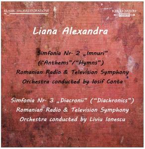Liana Alexandra: Symphonies nos. 2-3 | Music | Classical