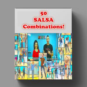 50 salsa combinations! ~(5+ hours teaching, 60 videos)~