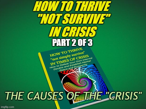 """First Additional product image for - HOW TO THRIVE """"not survive"""" IN TIMES OF CRISIS"""