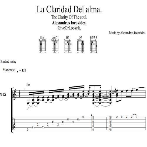 Second Additional product image for - Spanish Flamenco TABS + MP3~ *LA Claridad Del Alma* [GIVEORLOOSEIT]