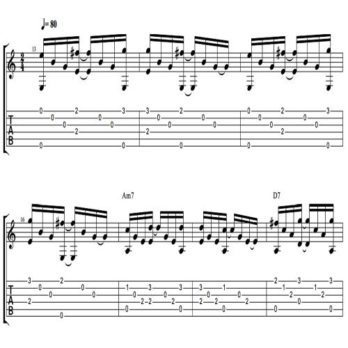 Third Additional product image for - Spanish Flamenco TABS + MP3~ *LA Claridad Del Alma* [GIVEORLOOSEIT]