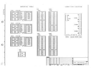fanuc a16b-1100-0220 s series a06b-6058-h3xx servo drive triple axes control board (full schematic circuit diagram)