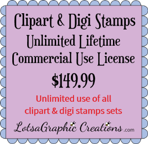 clipart&digistampsetsunlimitedlifetimecommercialuselicense