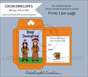 happythanksgivingindianshotcocoaenvelope