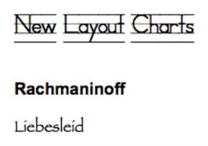 rachmaninoff: liebesleid