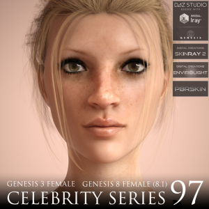 Celebrity Series 97 for Genesis 3 and Genesis 8 Female (8.1) | Software | Design