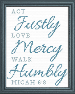 Act Love Walk   Crafting   Cross-Stitch   Other