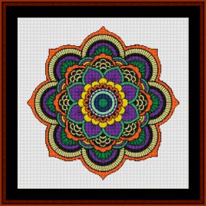 Mandala 121 cross stitch pattern by Cross Stitch Collectibles   Crafting   Cross-Stitch   Other