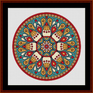 Mandala 122 cross stitch pattern by Cross Stitch Collectibles   Crafting   Cross-Stitch   Other
