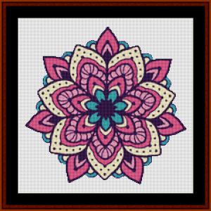 Mandala 125 cross stitch pattern by Cross Stitch Collectibles | Crafting | Cross-Stitch | Other