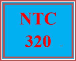 ntc 320 wk 1 discussion - implementation plan