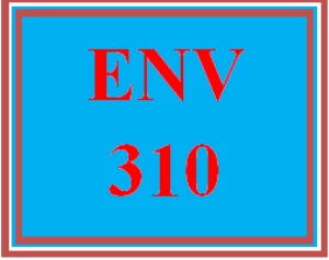 env 310 wk 5 discussion - minerals