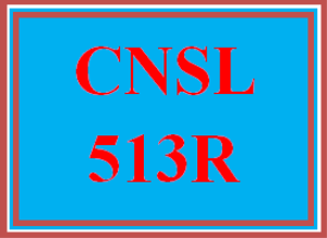 cnsl 513r wk 2 discussion - day 1 reflection