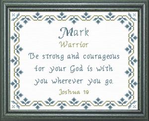 name blessings - mark 2