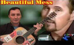 learn to play beautiful mess by diamond rio