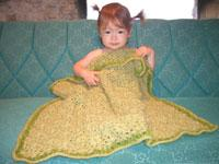 #35 lux flower baby blanket pdf pattern from sweaterbabe.com