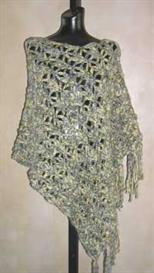 #41 dramatic lace crochet poncho pdf pattern from sweaterbabe.com