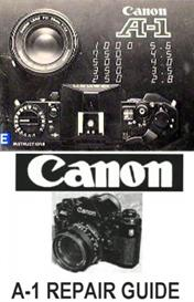 canon a-1 35mm camera repair manuals and instruction manuals
