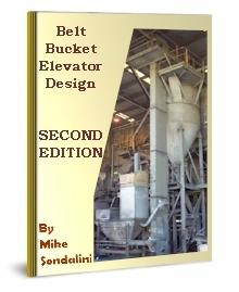 belt bucket elevator design - second edition