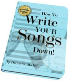 eBook: How to Write Your Songs Down | eBooks | Education